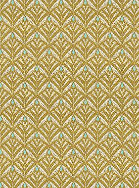 tissu jacquard zephyr yellow