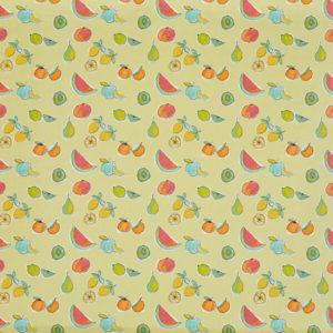 tissu enduit pvc Fruit salad lemon