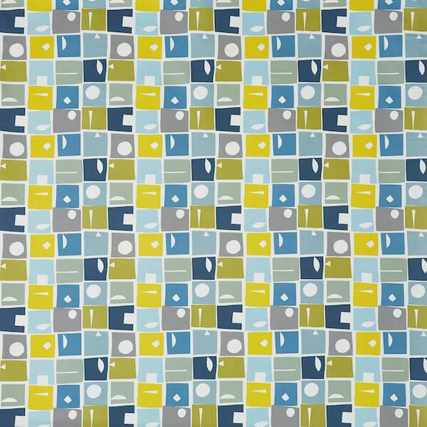 tissu enduit pvc bonnie bluebell