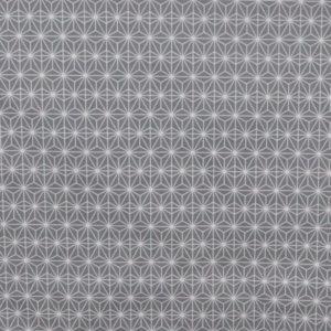 tissu coton enduit soleil d'orient gris