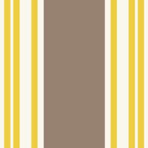tissu coton enduit saint jean de luz jaune