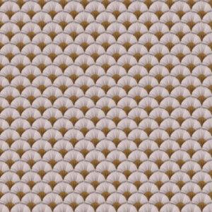 tissu coton enduit papyrus