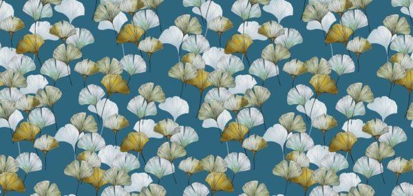 tissu coton enduit celine canard