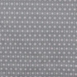 tissu coton ameublement soleil d'orient gris