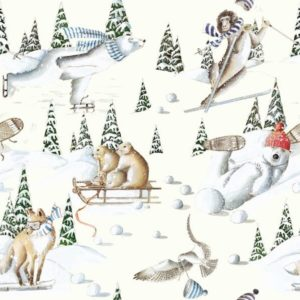 tissu coton ameublement tous au ski