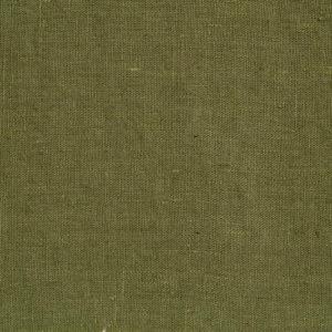 tissu lin lavé vert kaki