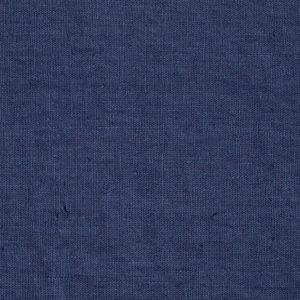 tissu lin lavé bleu nuit