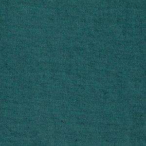 tissu lin lavé vert émeraude
