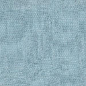 tissu lin lavé bleu gris