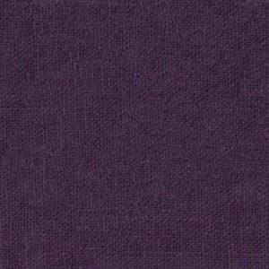 tissu lin lavé prune