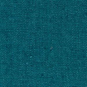 tissu lin lavé bleu vert