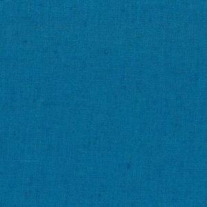 tissu lin lavé bleu canard