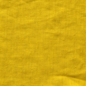 tissu lin lavé moutarde