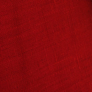 tissu lin lavé rouge